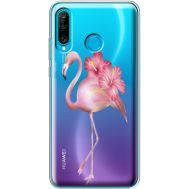 Силиконовый чехол BoxFace Huawei P30 Lite Floral Flamingo (36872-cc12)