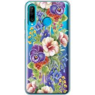Силиконовый чехол BoxFace Huawei P30 Lite Summer Flowers (36872-cc34)