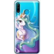 Силиконовый чехол BoxFace Huawei P30 Lite Unicorn Queen (936872-rs3)