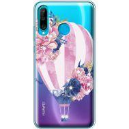 Силиконовый чехол BoxFace Huawei P30 Lite Pink Air Baloon (936872-rs6)
