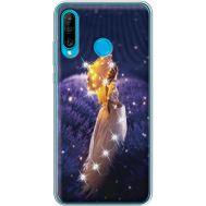 Силиконовый чехол BoxFace Huawei P30 Lite Girl with Umbrella (936872-rs20)