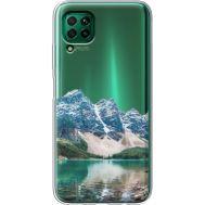 Силиконовый чехол BoxFace Huawei P40 Lite Blue Mountain (39380-cc68)