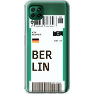 Силиконовый чехол BoxFace Huawei P40 Lite Ticket Berrlin (39380-cc80)