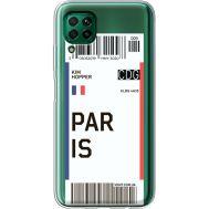 Силиконовый чехол BoxFace Huawei P40 Lite Ticket Paris (39380-cc86)