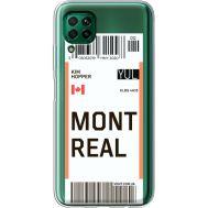 Силиконовый чехол BoxFace Huawei P40 Lite Ticket Monreal (39380-cc87)