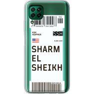 Силиконовый чехол BoxFace Huawei P40 Lite Ticket Sharmel Sheikh (39380-cc90)