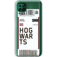 Силиконовый чехол BoxFace Huawei P40 Lite Ticket Hogwarts (39380-cc91)