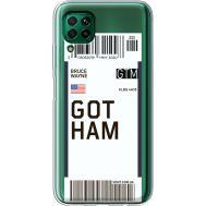 Силиконовый чехол BoxFace Huawei P40 Lite Ticket Gotham (39380-cc92)