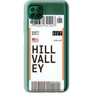Силиконовый чехол BoxFace Huawei P40 Lite Ticket Hill Valley (39380-cc94)