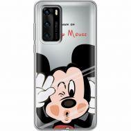 Силиконовый чехол BoxFace Huawei P40 Mister M (39747-cc58)
