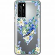 Силиконовый чехол BoxFace Huawei P40 Spring Bird (39747-cc96)
