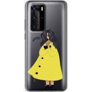 Силиконовый чехол BoxFace Huawei P40 Pro Just a Girl (39751-cc60)