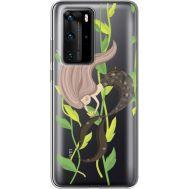 Силиконовый чехол BoxFace Huawei P40 Pro Cute Mermaid (39751-cc62)