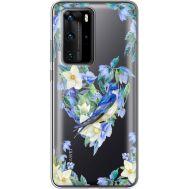 Силиконовый чехол BoxFace Huawei P40 Pro Spring Bird (39751-cc96)