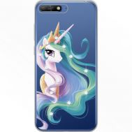 Силиконовый чехол BoxFace Huawei Y6 2018 Unicorn Queen (934967-rs3)