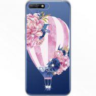 Силиконовый чехол BoxFace Huawei Y6 2018 Pink Air Baloon (934967-rs6)