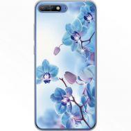Силиконовый чехол BoxFace Huawei Y6 2018 Orchids (934967-rs16)