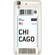 Силиконовый чехол BoxFace Huawei Y6 2 Ticket Chicago (36461-cc82)