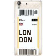 Силиконовый чехол BoxFace Huawei Y6 2 Ticket London (36461-cc83)