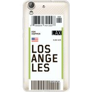 Силиконовый чехол BoxFace Huawei Y6 2 Ticket Los Angeles (36461-cc85)