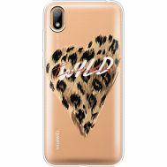 Силиконовый чехол BoxFace Huawei Y5 2019 Wild Love (37077-cc64)