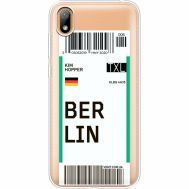 Силиконовый чехол BoxFace Huawei Y5 2019 Ticket Berrlin (37077-cc80)