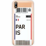 Силиконовый чехол BoxFace Huawei Y5 2019 Ticket Paris (37077-cc86)