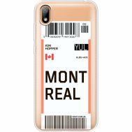 Силиконовый чехол BoxFace Huawei Y5 2019 Ticket Monreal (37077-cc87)