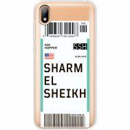 Силиконовый чехол BoxFace Huawei Y5 2019 Ticket Sharmel Sheikh (37077-cc90)