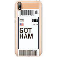 Силиконовый чехол BoxFace Huawei Y5 2019 Ticket Gotham (37077-cc92)