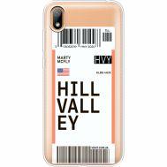Силиконовый чехол BoxFace Huawei Y5 2019 Ticket Hill Valley (37077-cc94)