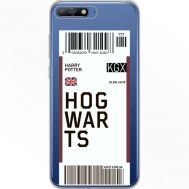 Силиконовый чехол BoxFace Huawei Y6 2018 Ticket Hogwarts (34967-cc91)