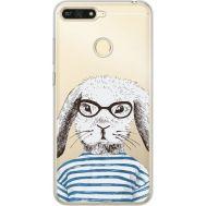Силиконовый чехол BoxFace Huawei Y6 Prime 2018 / Honor 7A Pro MR. Rabbit (34998-cc71)