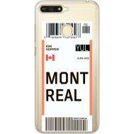 Силиконовый чехол BoxFace Huawei Y6 Prime 2018 / Honor 7A Pro Ticket Monreal (34998-cc87)
