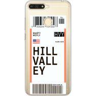 Силиконовый чехол BoxFace Huawei Y6 Prime 2018 / Honor 7A Pro Ticket Hill Valley (34998-cc94)