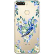 Силиконовый чехол BoxFace Huawei Y6 Prime 2018 / Honor 7A Pro Spring Bird (34998-cc96)