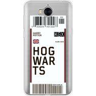 Силиконовый чехол BoxFace Huawei Y5 2017 Ticket Hogwarts (35638-cc91)