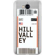 Силиконовый чехол BoxFace Huawei Y5 2017 Ticket Hill Valley (35638-cc94)