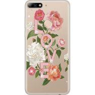 Силиконовый чехол BoxFace Huawei Y7 Prime 2018 Love (934966-rs14)