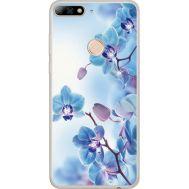Силиконовый чехол BoxFace Huawei Y7 Prime 2018 Orchids (934966-rs16)