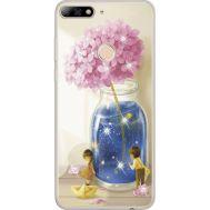 Силиконовый чехол BoxFace Huawei Y7 Prime 2018 Little Boy and Girl (934966-rs18)