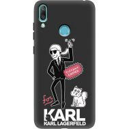 Силиконовый чехол BoxFace Huawei Y7 2019 For Karl (37011-bk38)