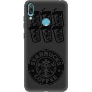 Силиконовый чехол BoxFace Huawei Y7 2019 Black Coffee (37011-bk41)