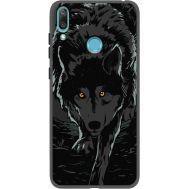 Силиконовый чехол BoxFace Huawei Y7 2019 Wolf (37011-bk62)