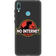 Силиконовый чехол BoxFace Huawei Y7 2019 No Internet (37011-bk69)