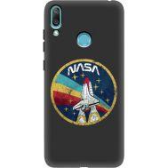 Силиконовый чехол BoxFace Huawei Y7 2019 NASA (37011-bk70)