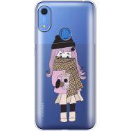 Силиконовый чехол BoxFace Huawei Y6s Winter Morning Girl (38865-cc61)