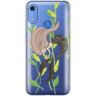 Силиконовый чехол BoxFace Huawei Y6s Cute Mermaid (38865-cc62)