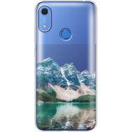 Силиконовый чехол BoxFace Huawei Y6s Blue Mountain (38865-cc68)