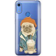 Силиконовый чехол BoxFace Huawei Y6s Dog Coffeeman (38865-cc70)